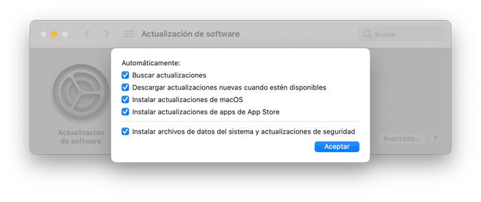 Joaquin Sanz - Actualización de software 2