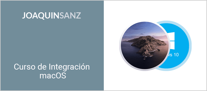 Joaquin Sanz - Curso de Integración macOS 10.15 Catalina