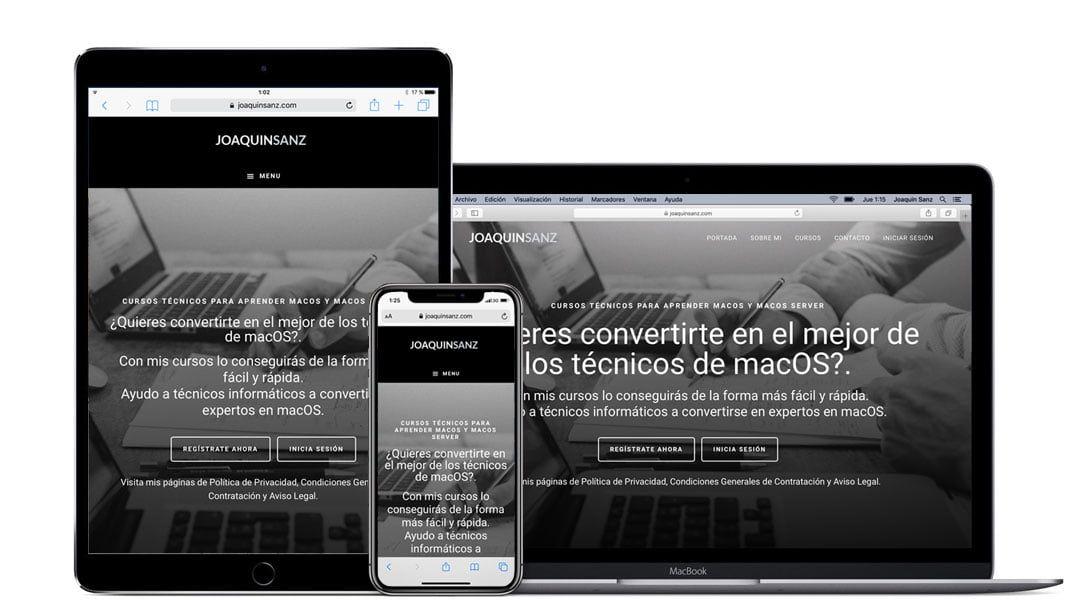 Joaquin Sanz - Cursos Técnicos Apple macOS - Dispositivos