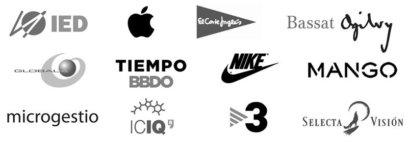 Joaquin Sanz - Cursos Técnicos Apple macOS - Logos Clientes