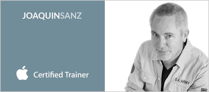 Joaquin Sanz - Consultor y formador en macOS