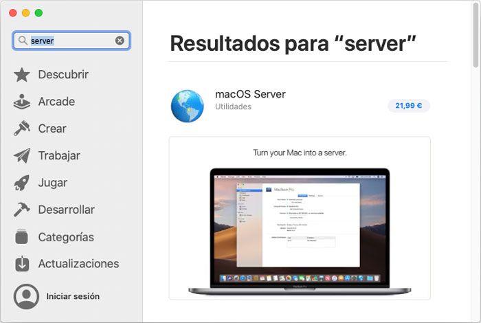Joaquin Sanz - La aplicación Apple macOS Server 5.10 - Imagen 1