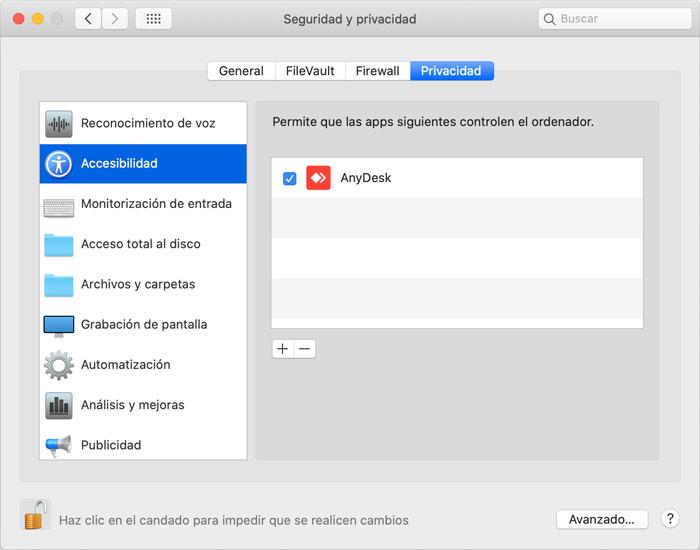 Joaquin Sanz - Seguridad en Apple macOS con Sandbox - Accesibilidad