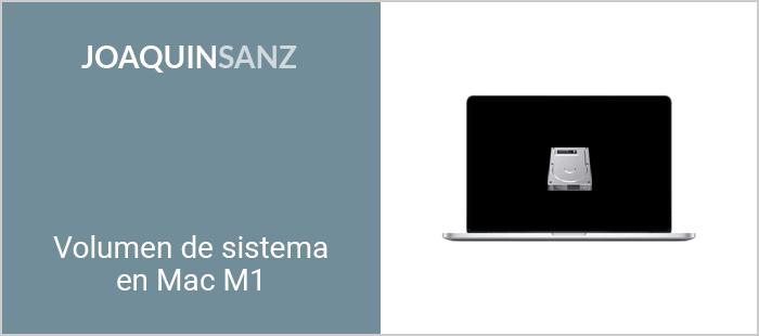 Joaquin Sanz - Volumen del sistema en Mac M1
