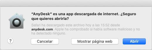 Joaquin Sanz - La aplicación AnyDesk Apple macOS - Imagen 2