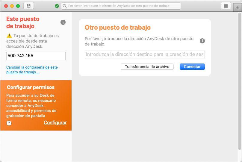 Joaquin Sanz - La aplicación AnyDesk Apple macOS - Imagen 3