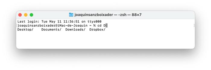 Joaquin Sanz - tecla tabulador